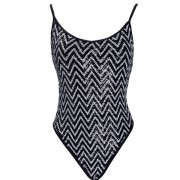 'SEQUINS' BRAZILIAN ONEPIECE SWIMSUIT IN ALLOVER SEQUINS