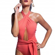 'GLAM' ONEPIECE SWIMSUIT IN ALLOVER GLITTER DETAILS