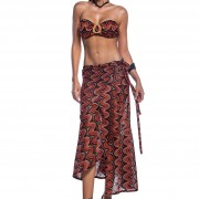 'INDIAN NIGHTS' SKIRT/PAREO IN CROCHET STYLE