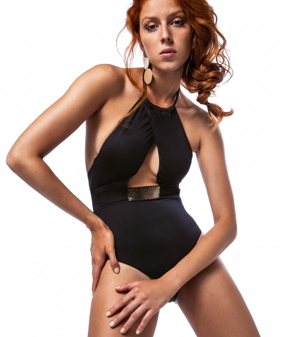 'IRIS' ONEPIECE SWIMSUIT IN FRONT CUTOUT