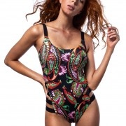 'ETHNIC MOOD' ONEPIECE SWIMSUIT IN OPEN BACK