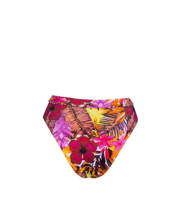 'TROPICAL PUNCH' HIGH WAIST BIKINI BOTTOM