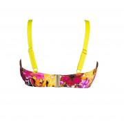 'TROPICAL PUNCH' UNDERWIRED BIKINI TOP IN CUP E
